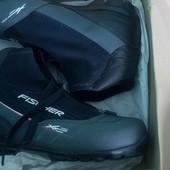 Ботинки беговые Fischer xc pro red, размер 41