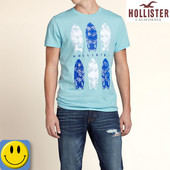 Новая мужская футболка Hollister р. S. сток, для мужчин