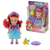 Кукла Принцесса Дисней - Ариэль, 15 см, Jakks Pacific (75833), русалочка русалка disney