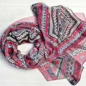 Легкие весенние шарфы с этно принтами