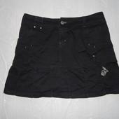 L-XL, поб 50-52, юбка джинсовая Sublevel расклешенная к низу