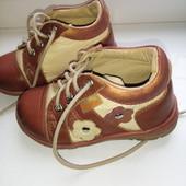 Ботинки кожаные Bottini италия 22р