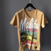 Мужская футболка кирпичная S m