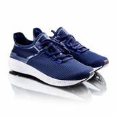 Мужские кроссовки 7538 темно синие
