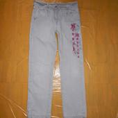 р. 158-164 укороченные джинсы Disney Hanna Montana для девочки подростка