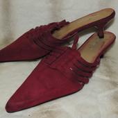 Сабо туфли новые 38 размер, стелька 26 см (учитывайте узкий носок)