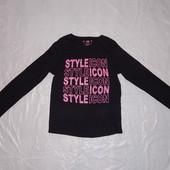 """эксклюзив! 8-9 лет, р. 128-134, реглан """"икона стиля"""" Young Dimension футболка с длинным рукавом"""