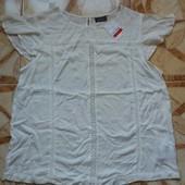 Красивая женская блуза Yessica C&A,52,56, Батал
