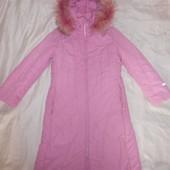 Распродажа шикарное теплое зимнее пальто Donilo, р.146 см