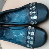 Кожаные симпатичные туфли Caprice, 39 p.