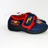 21 р Мягкие туфли мокасины Car Disney Pixar