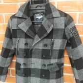 Английское пальто для мальчика 6-9 лет