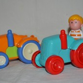 Фирменный трактора трактор фигурки человечки Happy land от ELC елс мазекеа