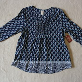 Шикарная блуза в этно стиле США