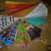 зонт новый яркие