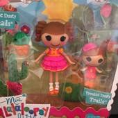 Набор с куклой Minilalaloopsy серии Сестрички- Дюны в стране ковбоев