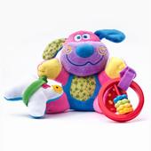 Игрушка развивающая Sensillo Собачка с вибрацией и погремушкой (23368)