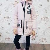 """Весенняя куртка для девочки """"Smile"""" в ассортименте"""
