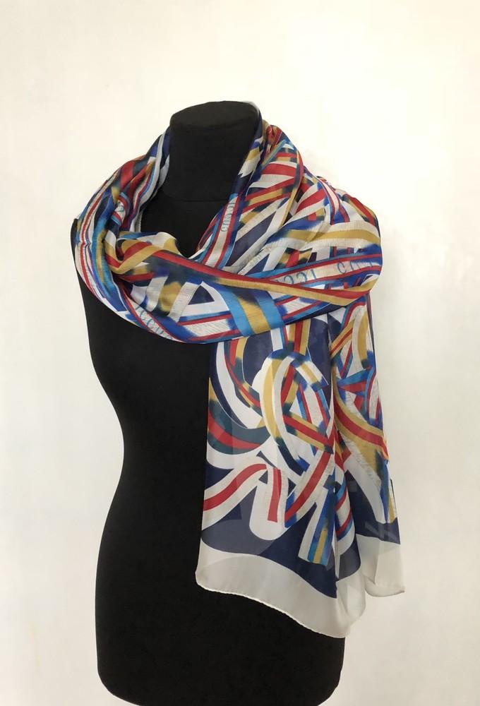Шелковый красивый легкий женский шарф. Супер цена!!! фото №1