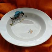 Глубокие тарелки  (полупорционки) для детского сада