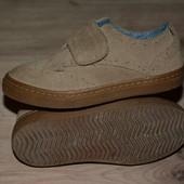 Замшевые  туфли фирма некст 7 размер