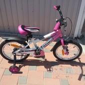 Детский двухколесный велосипед Azimut Stitch 12, 14, 16, 18, 20 д