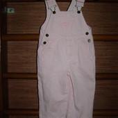 Комбинезон джинсовый OshKosh ,девочке на 1.5- 2года,рост до 92 см