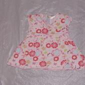 0-3 мес., р. 56-62 платье Next для малышки
