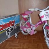 Детский велосипед Dino Bikes Hello Kitty 16