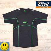 Спортивная мужская футболка Crivit р. M-L. Состояние новой. для тренировок, велоспорта, бега