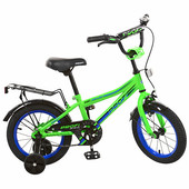 Детский велосипед Prof1 14 дюймов l14102 Top Grade (салатовый)