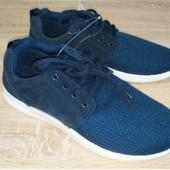 Мужские кроссовки синие размер 41, 42, 43 фирма Тех