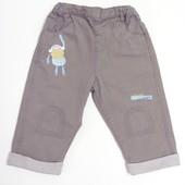 TU 9-12 мес. (74-80) джинсики с подкладкой