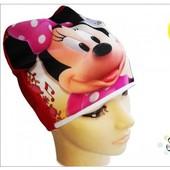 шапочка тонкая 3 D картинка Minni Mause Мінні Маус для дівчинки