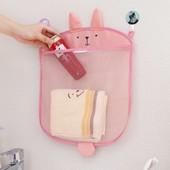 Сетка органайзер для игрушек и других вещей в ванную