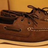 туфли-топсайдеры,макасины нат. кожа Skechers