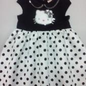 Нарядное платье Hallo Kitty 2-4