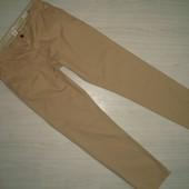 Мужские коттоновые брюки slim ф-ма H&M