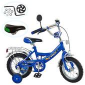 Велосипед Profi детский 12д. P 1243A синий, каретка