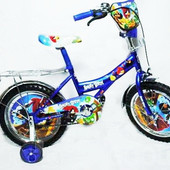 Детский велосипед Mustang Angry Bird (12-дюймов), синий