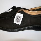 Женские туфли оксфорды черные р.38 Esmara Германия