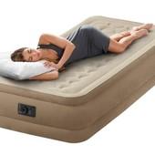Кровать со встроенным насосом 99х190х45 см, Intex 64456
