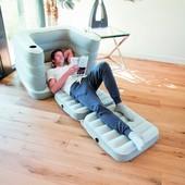 Bestway велюр-кресло 75065 (200*102*64 см,)