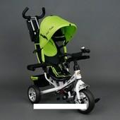 Велосипед трехколесный Best Trike eva 6588 Зеленый