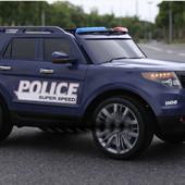 Детский электромобиль J1725 джип Полиция