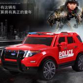 Детский электромобиль J1726 джип Полиция