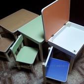 Стулы и столья детские деревянные для дома и садика