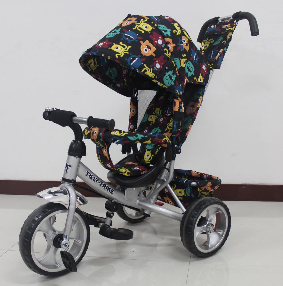 Детский  трехколесный велосипед Tilly Trike T-344, Новинка! фото №1