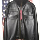 Кожаная куртка Detroit производства Alpha Industries.