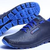 Кроссовки кожаные Columbia Blue Sole